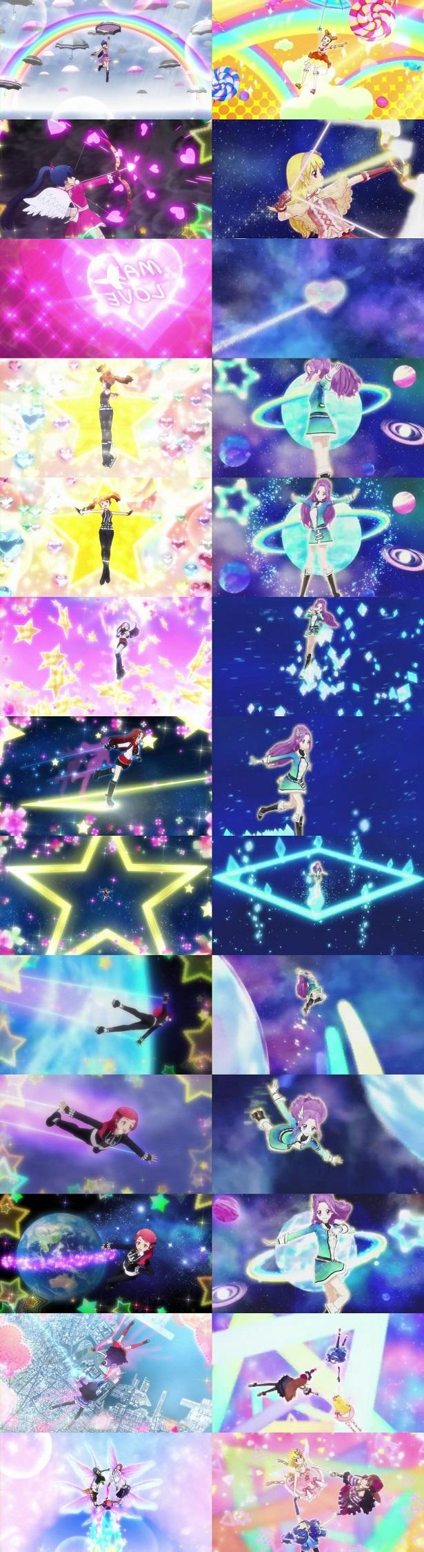 aikatsu copying pretty rhythm's jumps
