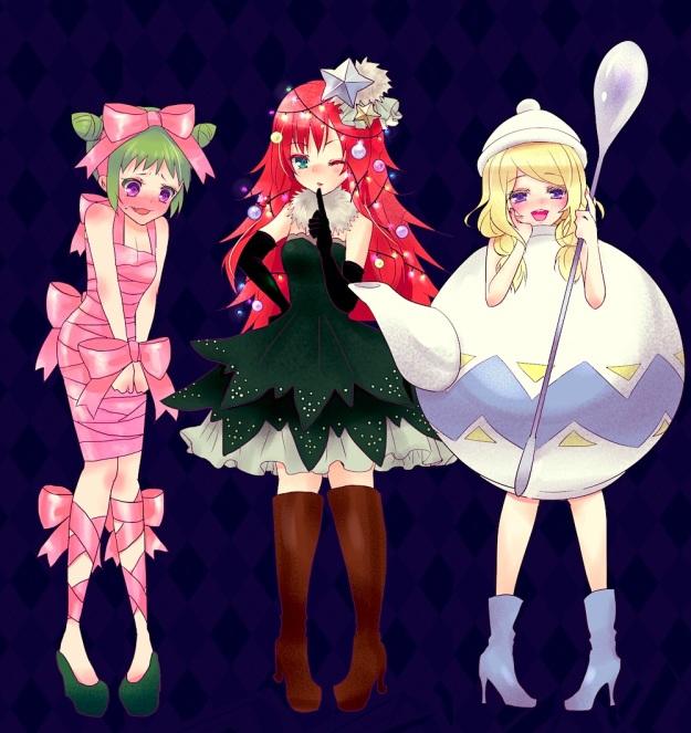 prad3 artist ennn beru wakana otoha xmas cosplay