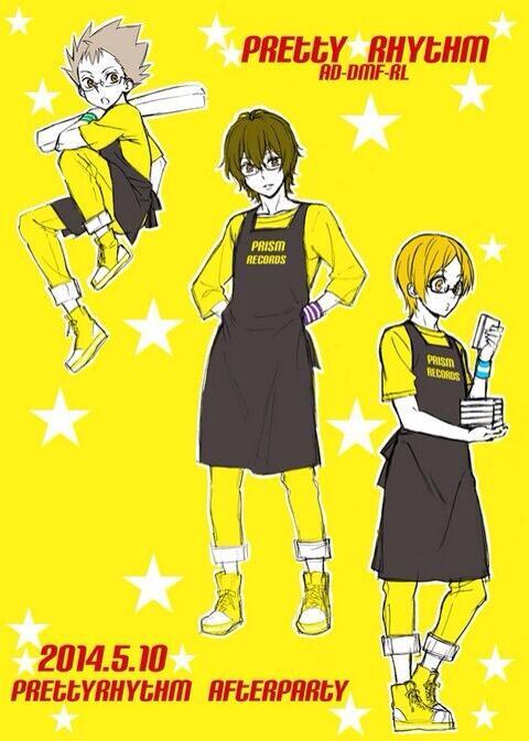 prad3 boys after party odeco hiro kazuki kouji