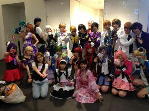 prad3 final movie event cosplayers