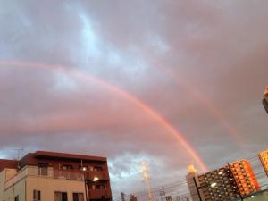 prad3 real life double rainbows from tsubota fumi twitter