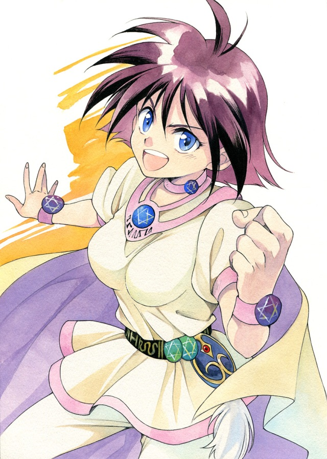 アガハリ artist post slayers amelia
