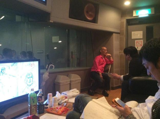 tomino staff hishida masakazu pr director working on G Reco, from G Reco official twitter