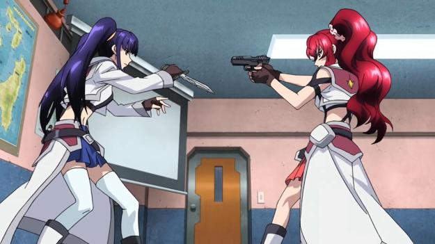 cross ange there can't be two twintails in one show