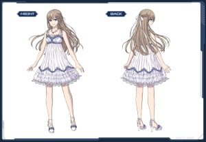 pso2 エアリーサマードレス kinda look like nanana dress