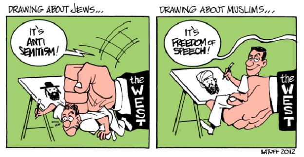 charlie-hebdo-islamophobie-antisemitisme-artist carlos-latuff-2