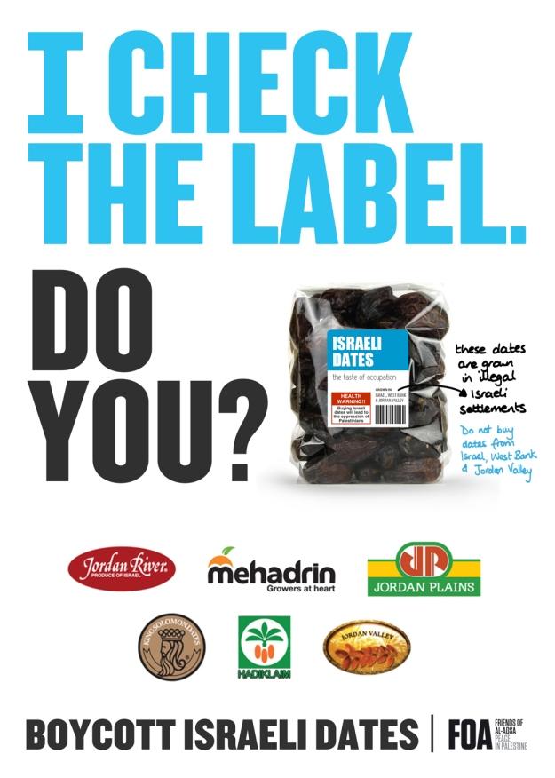 foa #CheckTheLabel poster