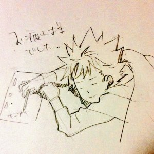 prad3 kazuki sleeping writing matsuura mai