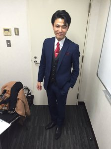 prad6 march 9 event MC Nakamura Hayato Kabuki actor hijiri suit