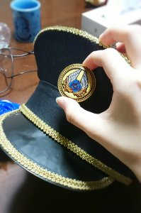 prad6 natsuki_botan jin schwarz rose cap cosplay