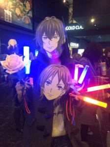 prad6 shin louis bday screening event tama mask fans 1