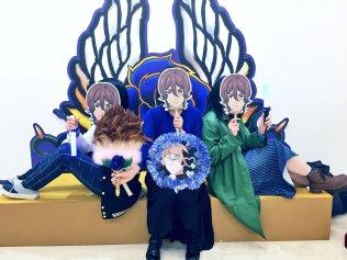 prad6 fan festival jin throne schwarz rose Meisama_Q