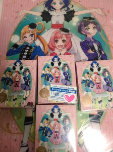 prad3 Irua bought 4 copies of the Pretty Rhythm Rainbow Live BD box 1.