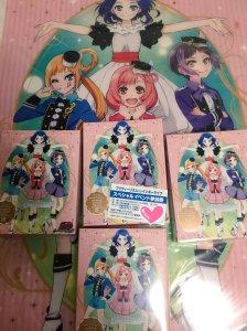 prad3 Irua bought 4 copies of the Pretty Rhythm Rainbow Live BD box 1.