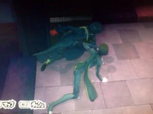 persona-5-makoto-joker-corner-hiding